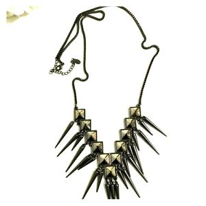 ALDO Spike Studded Metal Gorgeous Necklace